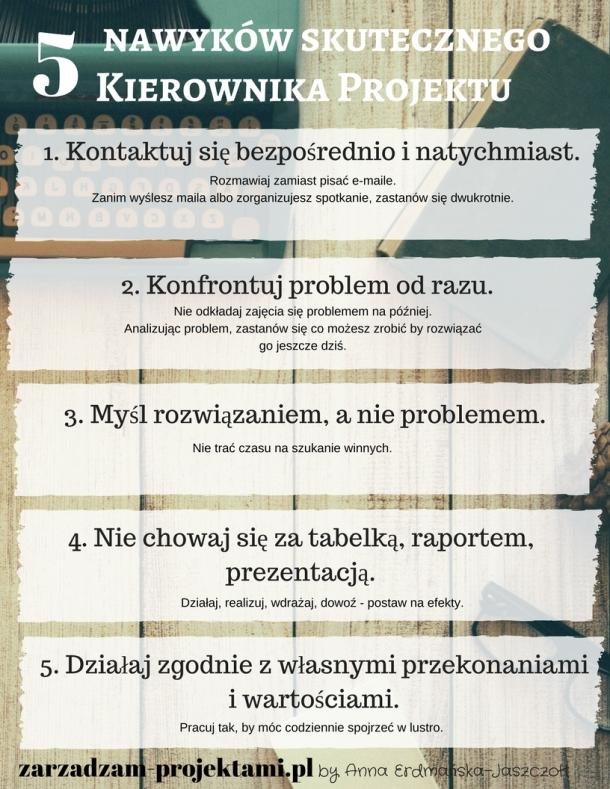 5 zasad skutecznego Kierownika Projektu-5